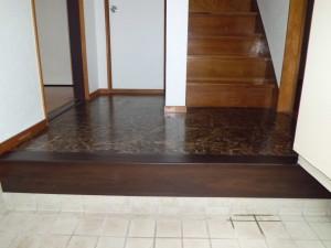 After:床を張替えました。